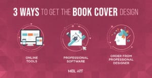 3 ways to get the e-book cover design