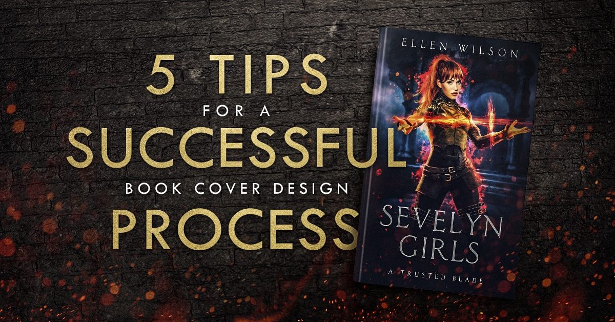 5 tips for a successful book cover design process