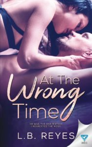 Book cover of At the Wrong Times by L.B. Reyes