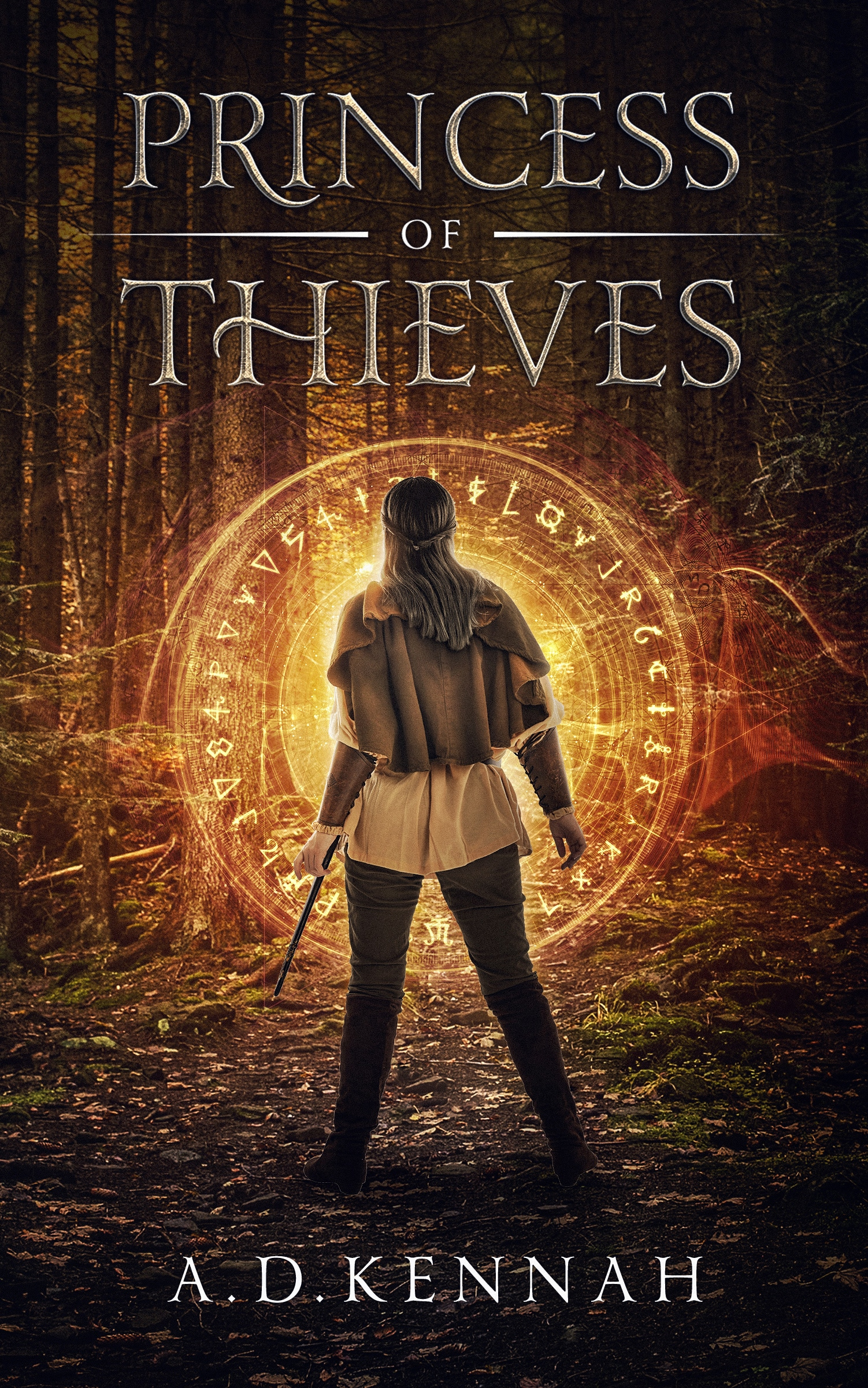 Cover of the novel Princess of Thieves