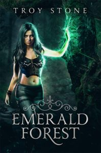 Cover of T. Stone novel Emerald Forest