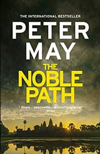 Book cover for The Noble Path by P. May