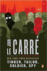 John le Carre's book cover