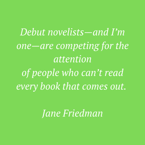 Jane Friedman's quote