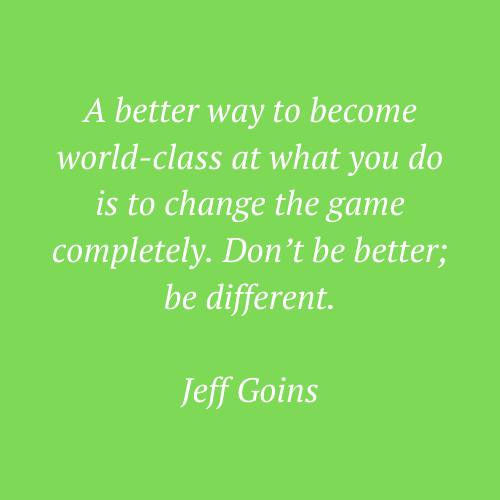 Jeff Goin's phrase
