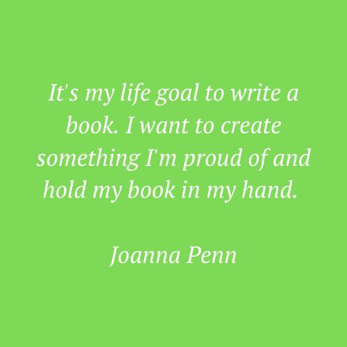 Joanna Penn's words