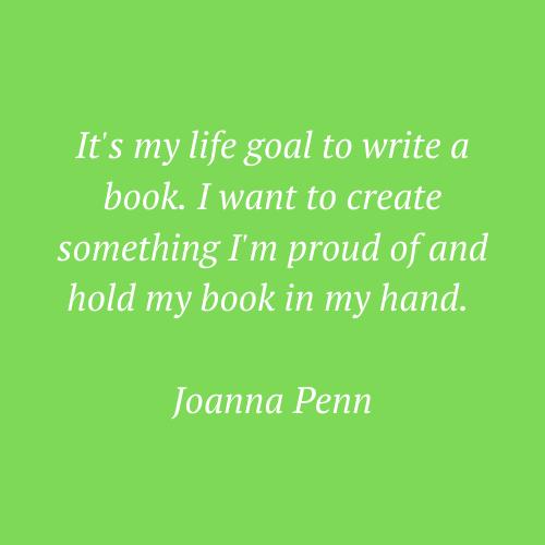Joanna Penn's words
