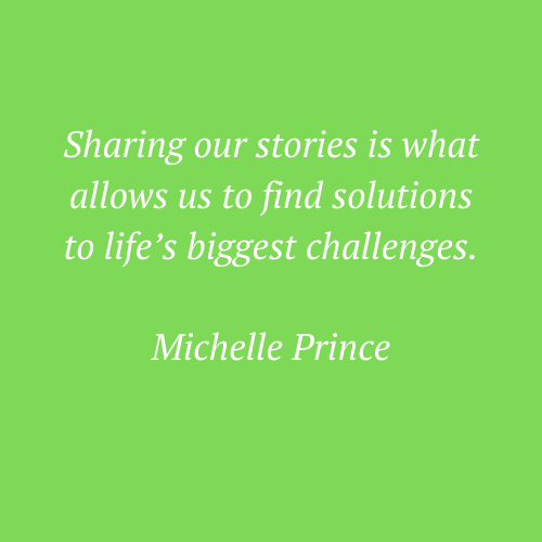Michelle Prince's words