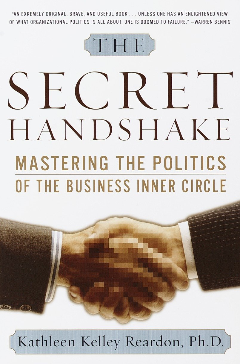 The Secret Handshake book cover
