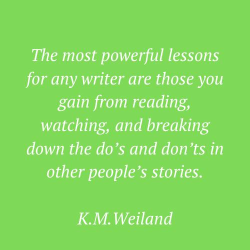 K. M. Weiland's quote