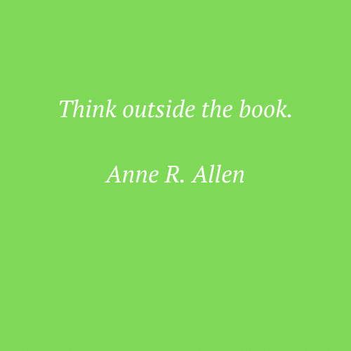 Anne R. Allen's words