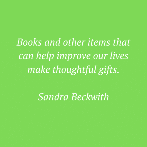 Sandra Beckwith's quote