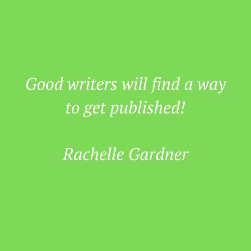 Rachelle Gardenr's saying