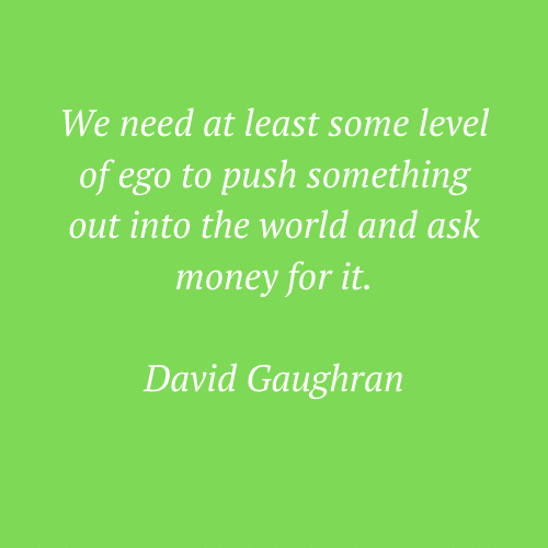 David Gaughran's quote