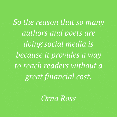 Orna Ross' words