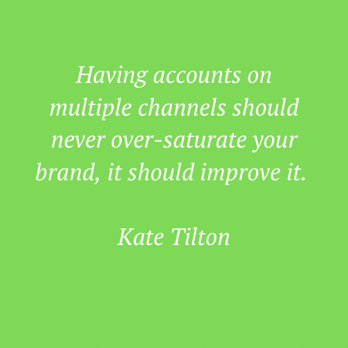 Kate Tilton's words