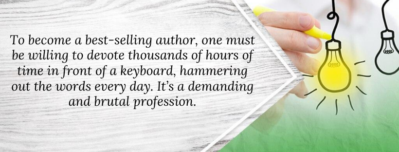 Becoming a best-selling author