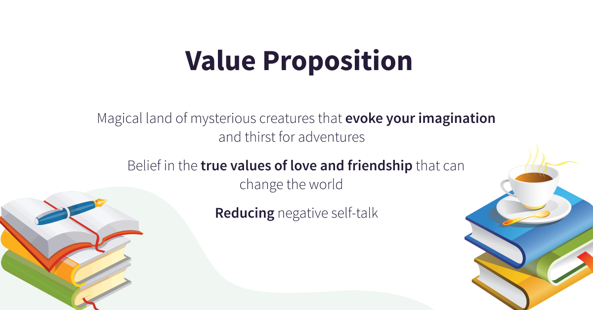 value proposition for the book
