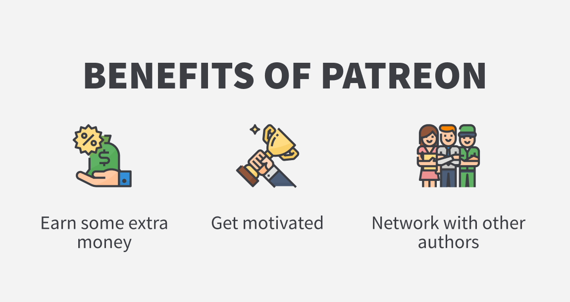patreon indie author benefits