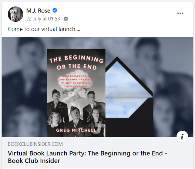 mj rose launch party