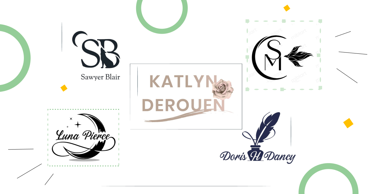Author Logo Design: Best Practices and Examples
