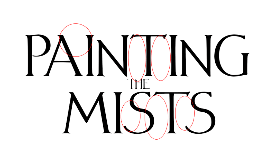 fantasy book cover fonts tutorial step 2