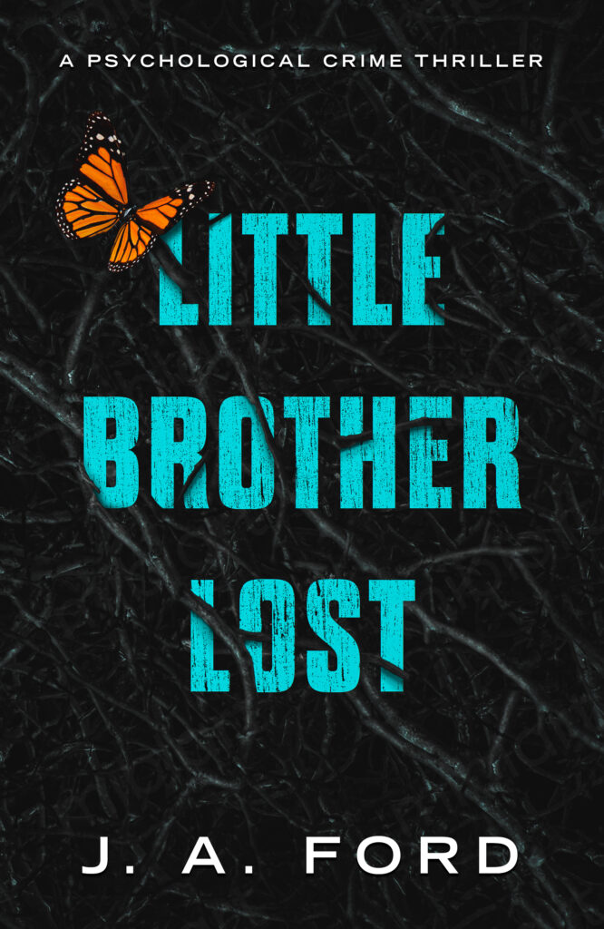 Little Brother Lost book cover design