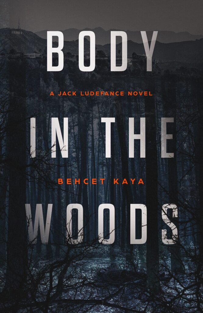 Horror & Thriller book cover body in the woods