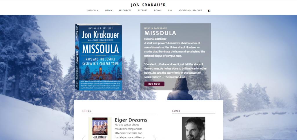 author website clarity