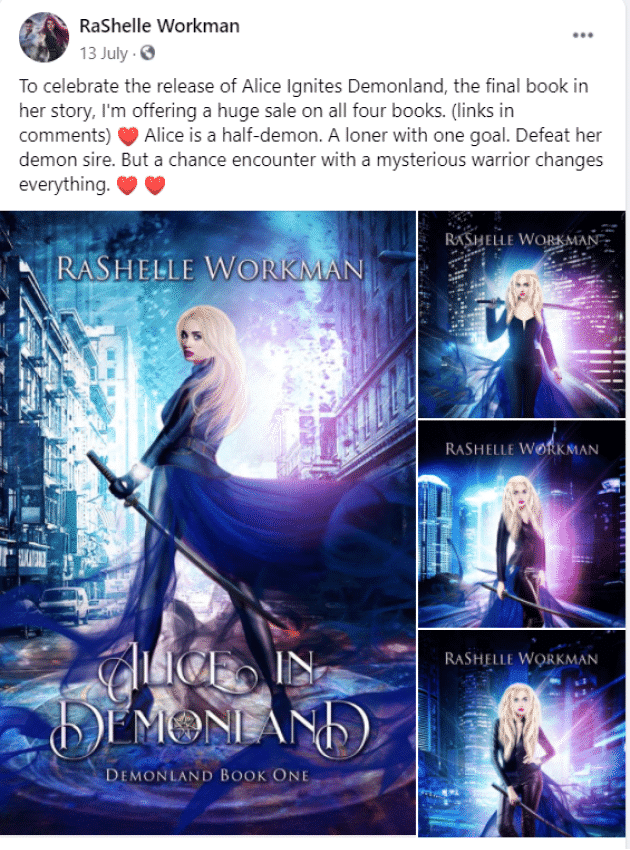 facebook book marketing