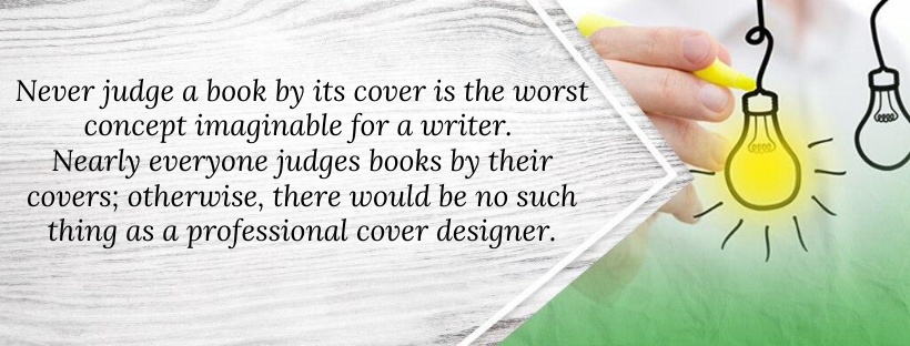 Daniels about book cover design