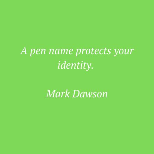 Mark Dawson's quote
