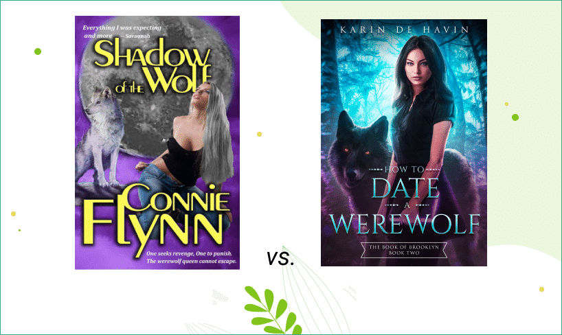 book cover design before after
