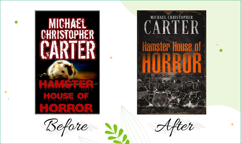house of horror design before after