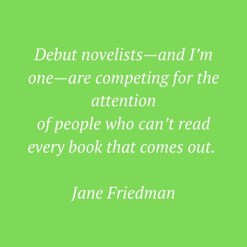 Jane Friedman's quote
