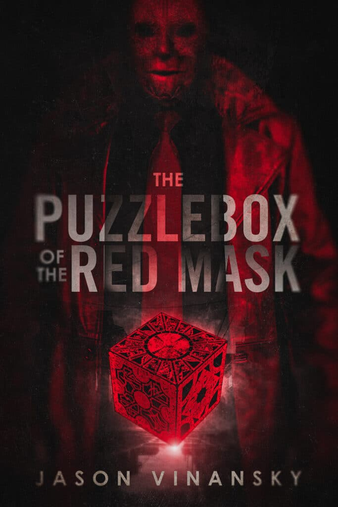 horror & thriller book cover The Puzzle box