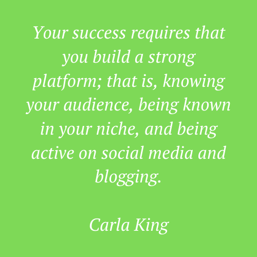 Carla King's quote