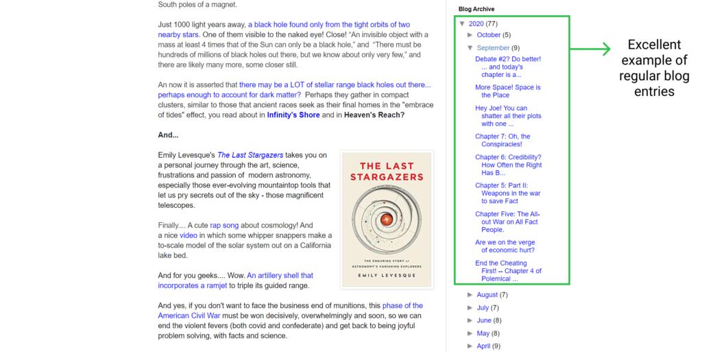 author blog example david brin