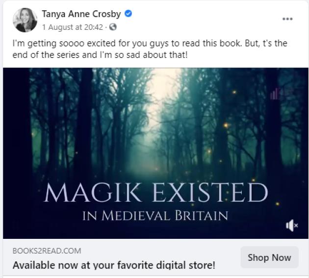 tanya anne crosby book trailer