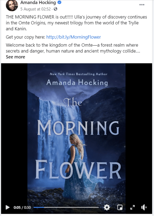 amanda hocking animated book cover design