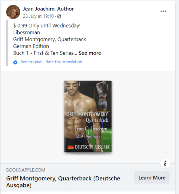 jean joachim facebook author page