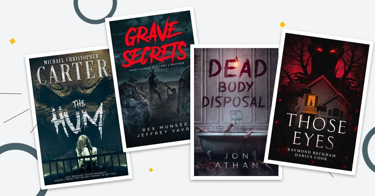 Horror & Thriller Book Cover Design Ideas: 20 Spooky Examples