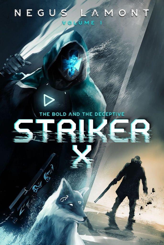 sky-fi fiction book cover design