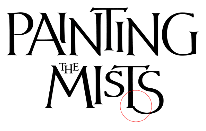 fantasy book cover fonts tutorial step 3