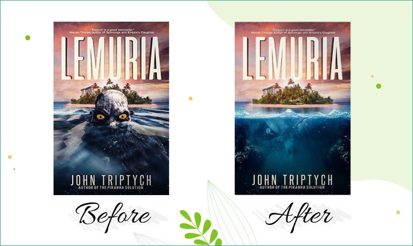 "Redesign of ""Lemuira"" cover."
