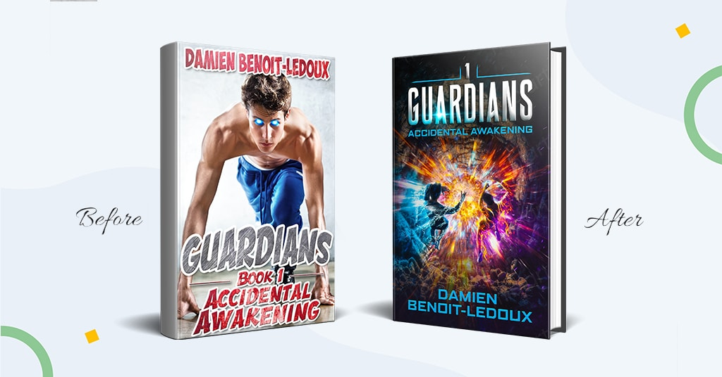 Book Cover Redesign to Sell More Books