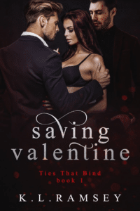 K. L. Ramsey's Saving Valentine as an example of romance book cover