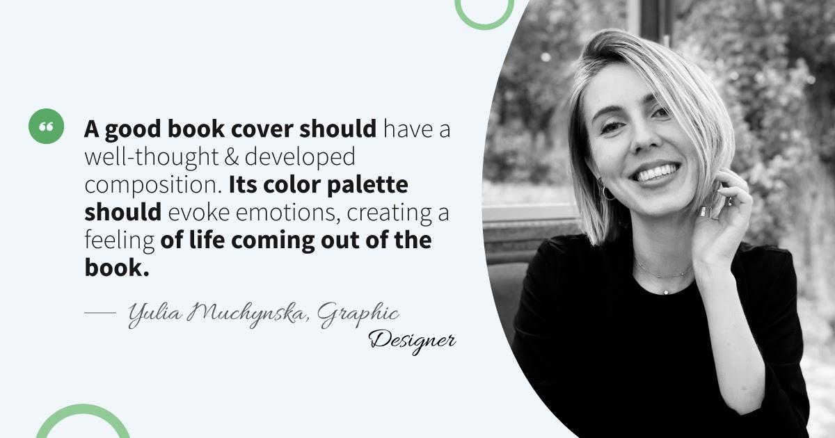 Interview with Yulia Muchynska, Graphic Designer
