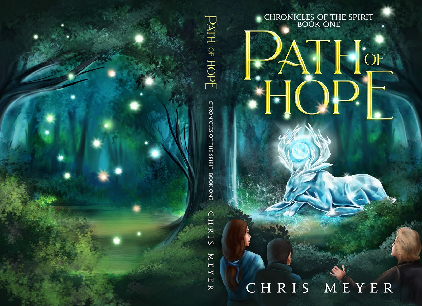 Path of Hope by Chris Meyer as an example of children's book cover design with nostalgic style