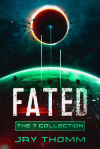 Fated as an example of metaphorical sci fi book cover art